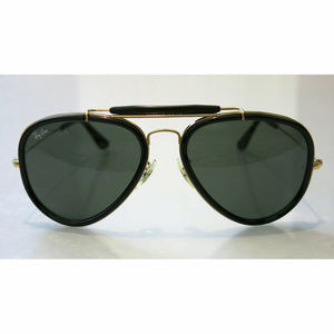 Rayban Aviator Gold Outdoorsman G-15 Sunglasses